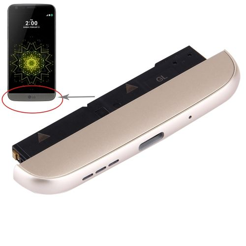 (Charging Dock + Microphone + Speaker Ringer Buzzer) Module For LG G5 / H820(Gold)
