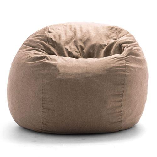 Bean Bag Chair - Light Brown