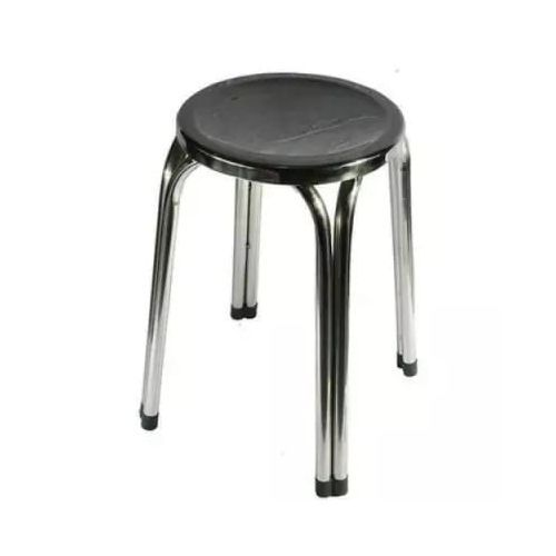 Stainless Steel Stool-silver