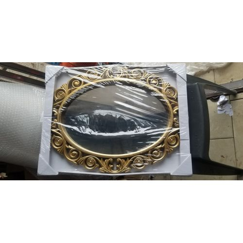 Dressing Mirror With Different Oval Shape Design