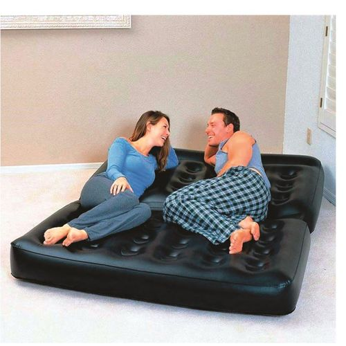 Multinational Inflatable Chair Convertible To Mattress