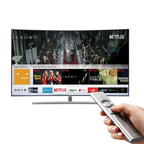 Samsung 75 inch Q8C Certified UHD Premium Curved HDR QLED Smart TV