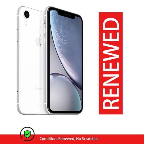 Renewed - Apple IPhone XR 3GB RAM+64GB ROM - White