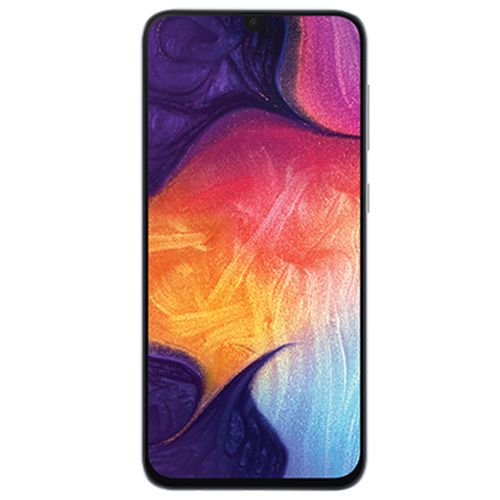Galaxy A50 6.4-Inch (4GB,128GB ROM) Android 9 Pie, (25MP+5MP+ 8MP)+ 25MP 4000mAh 4G Smartphone - White (JF)