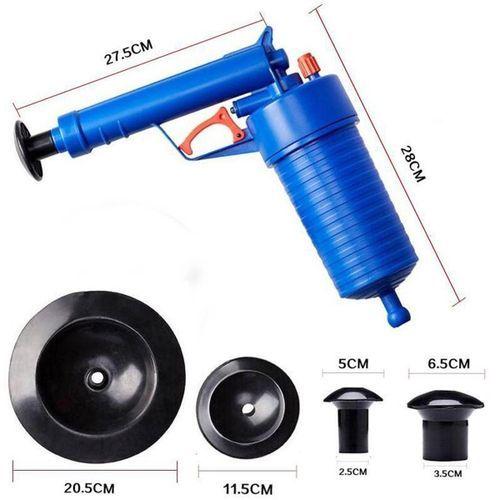 Air Drain Blaster Pressure Pump Cleaner Toilet Sink Plunger Pipe Kitchen.