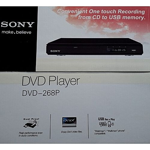 DVD PLAYER WTH USB AND MULTIPLAY BACK