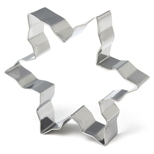 Stainless Steel Star Snowflake Biscuit Cake Mold Cutter Cookies Fondant Icing Mould Baking DIY Tool