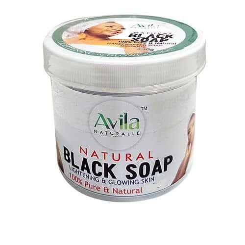 Organic Lightening Herbal/black Soap