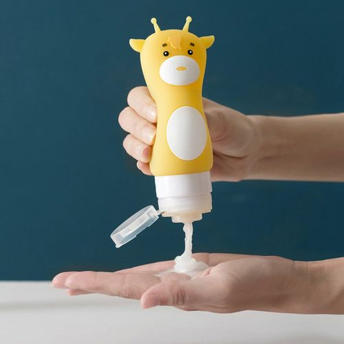Cartoon Travel Sub-bottle Shampoo Shower Gel Lotion Bottle Cosmetic Storage