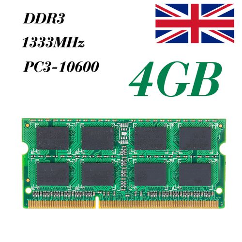 NEW Memory 4GB Ram Laptop Notebook DDR3 PC3 10600S 10600 1333 MHz 204 Pin SODIMM Lot
