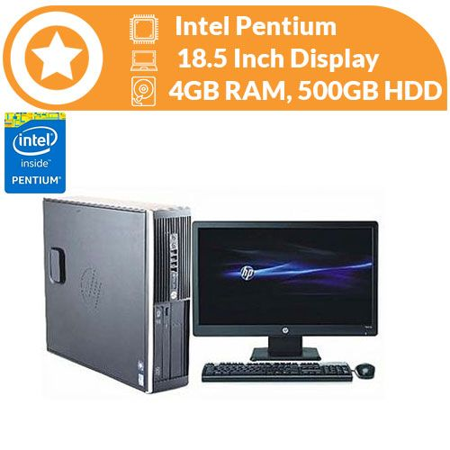 6000 SFF Dua Core 8GB RAM, 500GB HDD,Win 10 Pro, MS Office