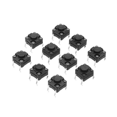 20Pcs Tact Switch DIP SMD Momentary Tact Tactile Push Button Switch Waterproof