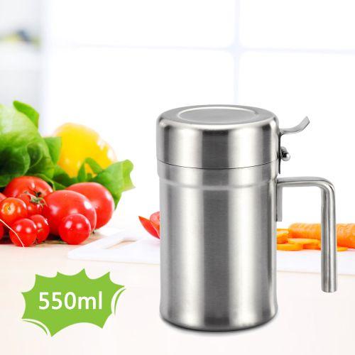 Stainless Steel Oil Dispenser Olive Oil Can Edible Oil