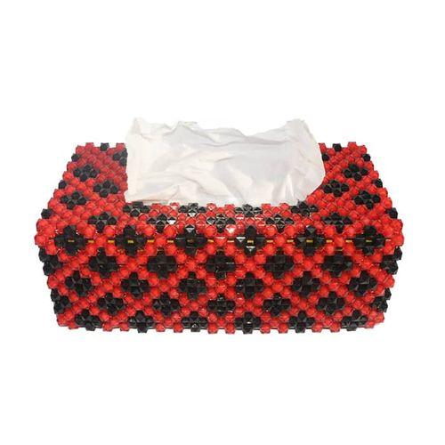 Decorative Beaded Tissue Box