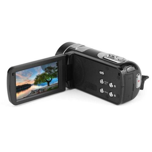 Night Vision FHD 1920 X 1080 3.0 Inch 18X 24MP Digital Video CamCamcorder