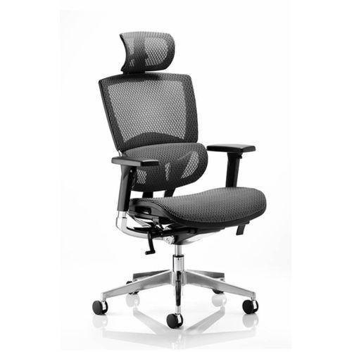 Executive Ergonomic Office Chair - BLACK
