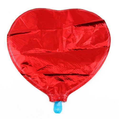 1Pc 10 Inch Heart Shape Foil Balloons Wedding Party Decoration Helium Air Balloon Red Green Silver Gold