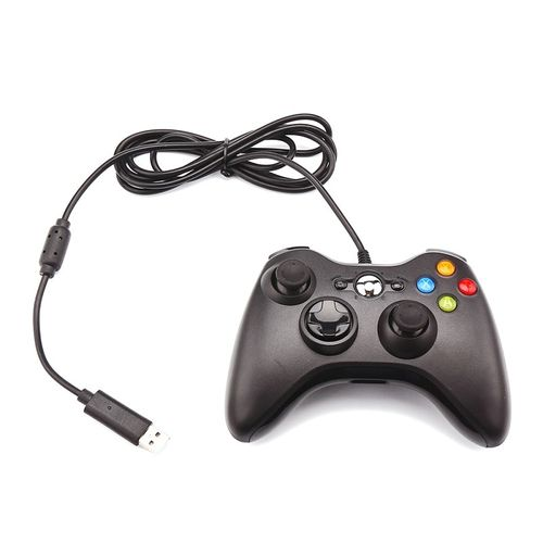 Gamepad For Xbox 360 Wired Controller USB Wired 3D Joystick LED Indicator Double Vibration USB Computer Game Controller Gamepad FCSHOP