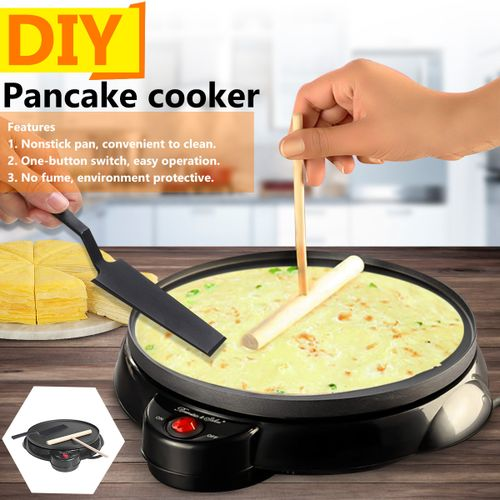 Multi Cooker Pan Electric Cookware Non-stick Baking Crepe Pancake Kitchen 220V