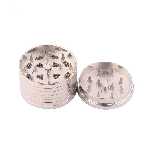 41mm Metal Herb Tobacco Crusher / Grinder With 3 Layers