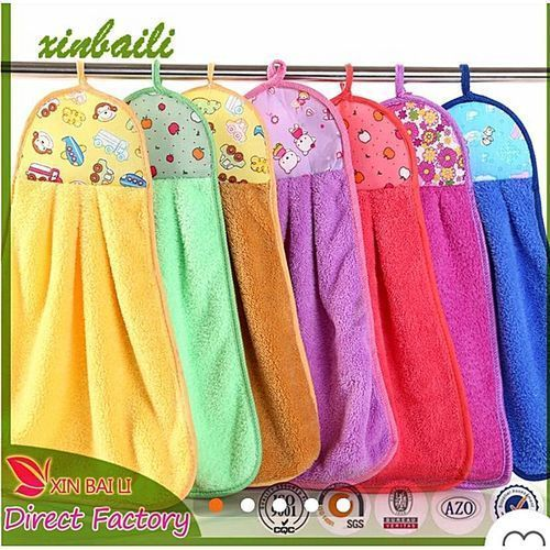 Colourful Patterned Kitchen Napkin Towels - Set Of 12