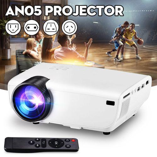 Full HD 1080P LED Projector Wireless Display Home Theater Multimedia USB AV VGA