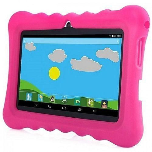 "A32 7"" KIDS LEARNING TABLET 7 INCH, ANDROID 6.1, 8GB, WI-FI, QUAD CORE, DUAL CAMERA And Pink Pouch"