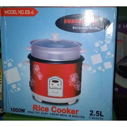 Eurosonic Rice Cooker -- 2.5 L