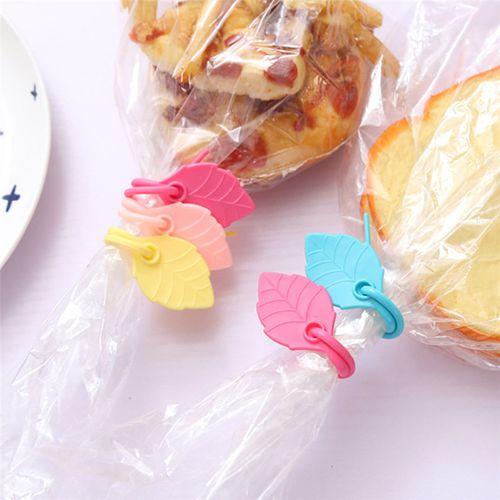 5pcs Home Seal Pour Food Storage Bag Sealer Tableware