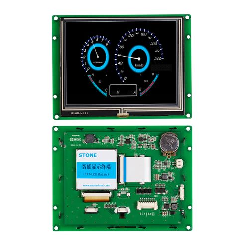 "Programmable TFT LCD Touch Screen 5.6""with High Brightness"