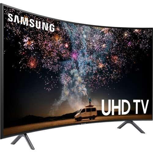 "65"" Class RU7300 HDR 4K UHD 2019 Smart Curved LED TV"