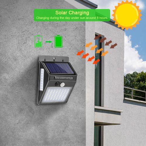 100 LED Solar Light Outdoor Solar Lamp PIR Motion Sensor Waterproof Wall Light With Solar Energy For Garden Decoration