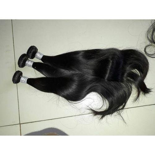 Silky Straight Hair (3 Bundles) For Full Hair
