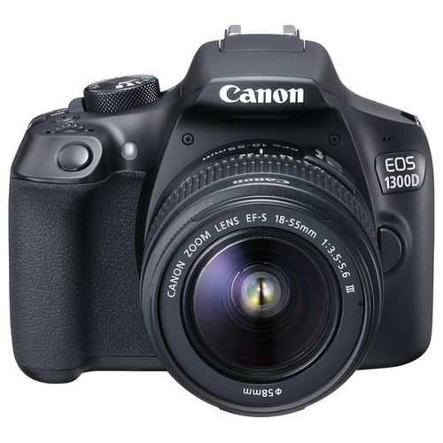 EOS 1300D DSLR With 18-55mm III Lens + 32GB + Bag Free