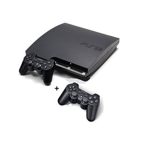 Slim 160GB Console + 2Pads And 18 Games (PES19, FIFA19 Etc