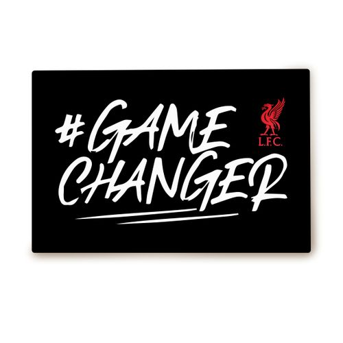 Liverpool F.C.: Game Changer Metallic Poster Pure White