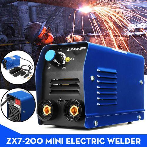 200AMP Portable Welding Inverter Welder Machine MINI For Household ZX7-200 IGBT