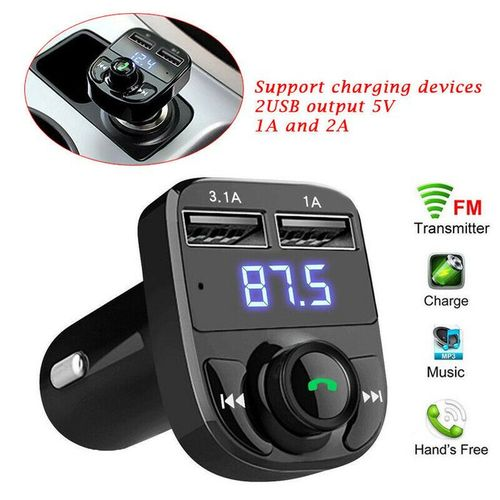Car Bluetooth MP3, FM Radio And Phone Call Handsfree Kit