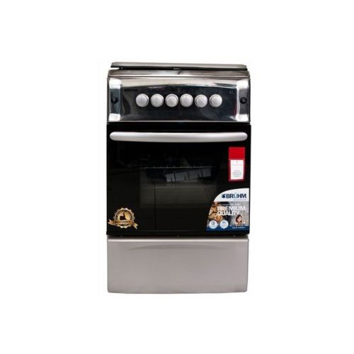 3 Gas + 1 Electric Gas Cooker (50 X 55cm) - Silver