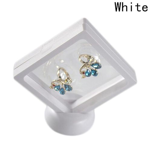 Benhongszy Jewelry Ring Pendant Display Stand Holder Bague Packaging Box Protect Jewellery & Stones Floating Presentation Case