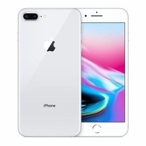 IPhone 8 Plus 5.5-Inch HD (3GB,256GB ROM) IOS 11, 12MP + 7MP 4G Smartphone - Silver