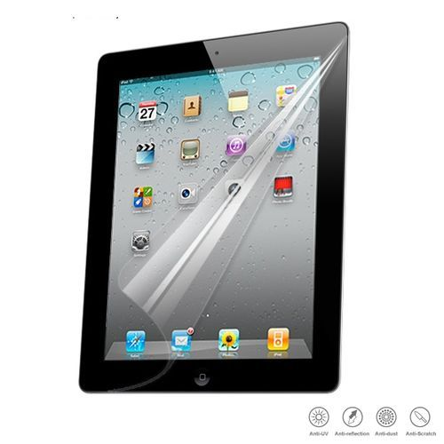 HD LCD Clear Transparent Screen Guard Protector For IPad 2 3 4