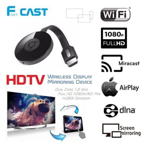 HDMI Wireless Display Receiver Fast Cast (Black) HSL-A