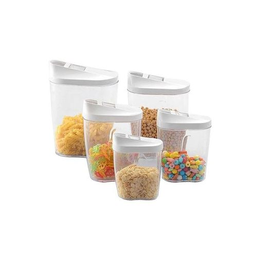 10-Piece Container Set With Easy Pour Lids