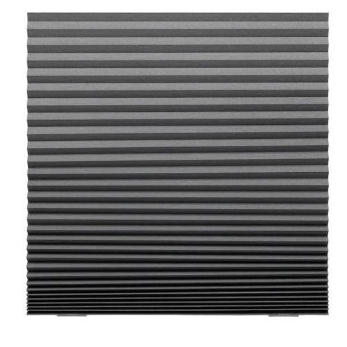 SCHOTTIS Block-out Pleated Blind, Dark Grey, 100×190 Cm