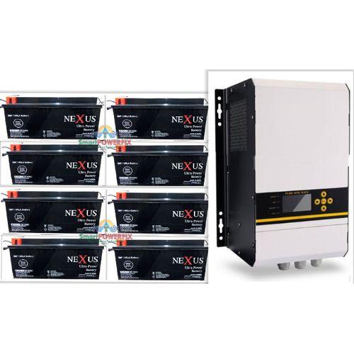 5kva Keye Inverter With 8 Rugged Nexus 200ah Batteries