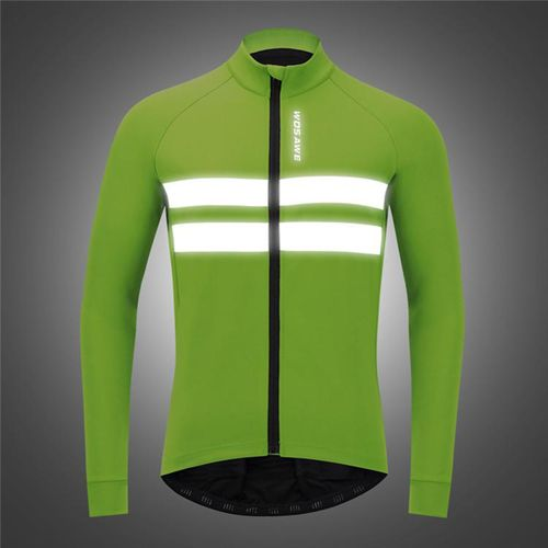 Cycling Jackets Jersey Windproof Bike Bicycle Coat Reflective Vest