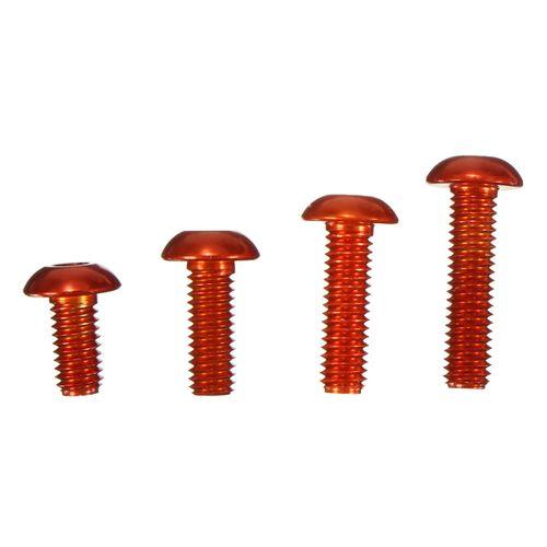 M3 6 8 10 12mm Aluminum Alloy Screw Nut Bolt Fillister Head For AE Model Machine