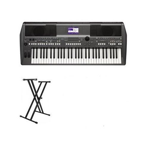 Yamaha PSR-S670 With Keyboard W/ Stand