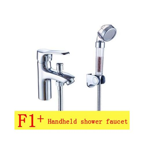 Copper Shower Basin Faucet Hot Cold Water, Bathroom Shower Basin Faucet Set, Chrome Shower Faucet Mixer Water Tap Single Handle